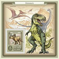 SOLOMON ISLANDS  2017  dinosaurs