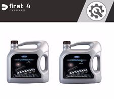 2 x GENUINE FORD FORMULA F SYNTHETIC ENGINE MOTOR OIL 5W30 5 LITRES 155D3A