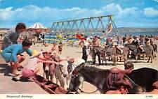 Weymouth Donkeys Beach Promenade Plage