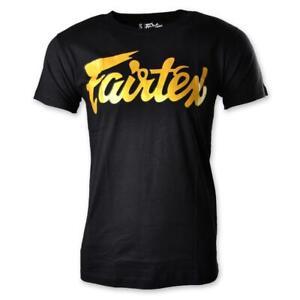 Fairtex Fight Team T-Shirt Adult Cotton Leisure Tee Muay Thai Boxing Training T