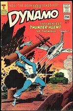 DYNAMO #1, 2, 3, 4 1966 TOWER COMICS: THUNDER AGENTS, DYNAMO, AND WONDER WEED!