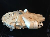 "Kenner Star Wars MILLENIUM FALCON 1979 working ""siren"" -incomplete- Vintage"