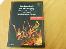 Das Fetenbuch für Alt und Jung (100 Lieder und Hits) für Gesang und Gitarre