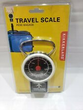 Kikkerland Travel Luggage Scale Suitcase Hand Held Portable Weights up to 75 Lbs