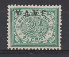 Nederlands Indie Netherlands Indies Indonesie nr 66f MLH JAVA KOPSTAAND 1908