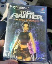 Lara Croft Tomb Raider The Angel of Darkness Sony PlayStation 2 Ps2