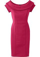 elegantes festliches Kleid Partykleid Shirtkleid Kleid Cocktailkleid hellrot NEU