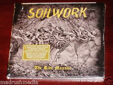 Soilwork: The Ride Majestic - Limited Edition CD 2015 Bonus *SIGNED BOOKLET* NEW