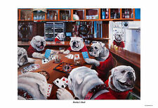 Georgia Bulldogs Football Mark Sundermeyer Dooley S Deal Artwork Print 13 X 19