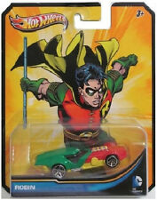 HOT WHEELS: 2013 DC UNIVERSE DC COMICS ROBIN 1:64 DIECAST CAR