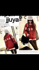 Ladies Christmas Snowflake Jumper Sweater Knitwear