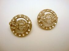 Shriner Masonic Earrings and Twin Scatter Pins Set Vintage