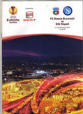 Orig.PRG    Europa League 10/11   STEAUA BUCAREST - SSC NEAPEL  !!