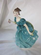 "Royal Doulton Rhapsody Bone China 6.75"" Lady Dancing Ball Gown Figurine Hn 2267"