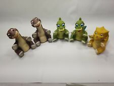 Land Before Time Puppets  - Pizza Hut 1988 lot of 5