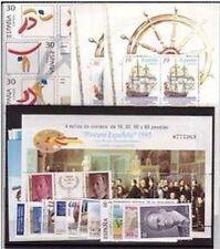España 1995 Edifil 3336/3405 Sellos ** Año Completo con Hojitas Spain Stamps