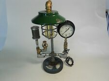 Steampunk Industrial Lamp with Vacuum Muffler