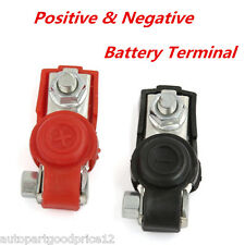 Car Truck Battery Terminal Clamp Clips Connector Positive & Negative with Cover