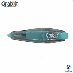 Grabbit Plus+ Correction Tape 5mm x 6meters Refillable   Home Office Stationery