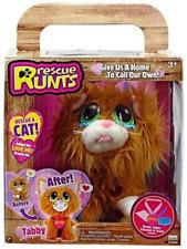 Rescue Runts Tabby Cat Adoptable Pet Plush