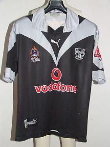 Shirt Trikot Maillot Rugby Sport New Zealand Warriors Telstra