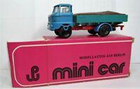 mini car 1:87 IFA W 50 Pritsche mit Ladung OVP 1004 blau