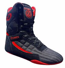 Otomix Pro Tko Super Hi Pro Boxer Men's Boxing Shoes (Black)