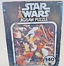 Vintage STAR WARS Jigsaw Trapped In The Trash Compactor 140 pieces Kenner 1977