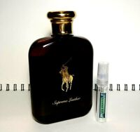 POLO SUPREME LEATHER EDP - 5ml Glass Decant Atomizer- SAMPLE