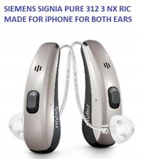 Pair of Siemens Signia Pure 312 3nx Hearing AIDS