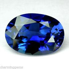 9.20cts. HUGE BLUE SAPPHIRE OVAL VVS LOOSE GEMSTONE JEWELRY ovale saphir bleu