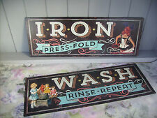 Unbranded Tin Decorative Wall Plaques
