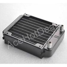 New Computer Radiator Water Cooling Cooler for CPU LED Heatsink Aluminum 80mm
