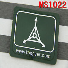 Outdoor Tactical Military Green TAD Gear Design Triple Magic Stick Patches
