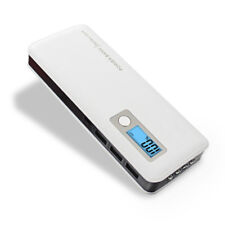 AU 50000mah Power Bank 3usb 4 LED LCD External Backup Battery Charger for iPhone Black Universal