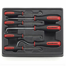 GearWrench Hook and Pick Set 7 Piece Tool Cotter Pin Puller Mini Hose Straight