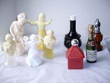 LOT 8 Vintage Avon Cologne/Perfume Doll & Decorative Decanters/Bottles, Pomander