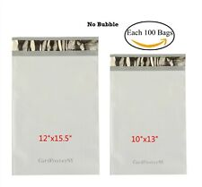 200 Each 100 10x13 12x155 Poly Mailers Shipping Envelope Self Sealing Bags 2mil