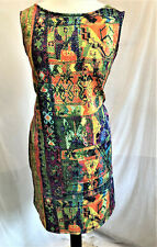 New Curves Bodycon Multicoloured Summer Midi Dress Curves + Plus Sizes to 34/36