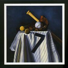 SEVEN UP STILL by Bill Williams BILL GOFF Postcard 1995 MICKEY MANTLE NY Yankees