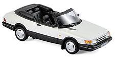 Saab 900 Turbo 16 Cabriolet 1992 wei�Ÿ white 1:43 Norev