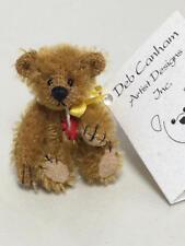 "ARTIST DEB CANHAM HAVE A HEART COLLECTION MINIATURE BEAR ""TINY TEDDY"" 74/1"