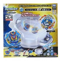 Beyblade Burst GT B-136 BEYBLADE GATINKO BATTLE SET  Bay Stadium NEW In stock