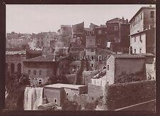 Tivoli Italie Italia Photo amateur Vintage citrate 1898