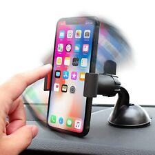 SUPPORTO PER IPHONE X XR XS AUTO SNODO PORTA CELLULARE VENTOSA 360° UNIVERSALE