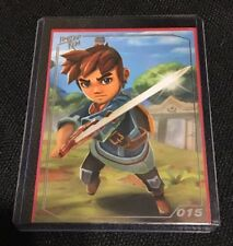 015 Limited Run Games Oceanhorn Monster Of Uncharted Sea 015 Silver Trading Card