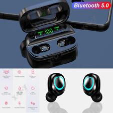 Wireless Headphones Mini True Bluetooth 5.0 Stereo Earphone Headsets For Sony LG