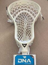 Ecd East Coast Dyes Dna FlexForm Men's Lacrosse White Pre-Strung Head Brand New!