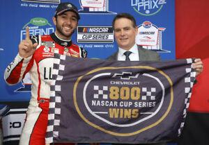 NASCAR SUPERSTAR CHASE ELLIOTT WINS AT COTA  8X10 PHOTO W/BORDERS
