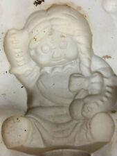 "MC425 ""Raggedy Ann ""  ceramic mold VINTAGE  6x5"